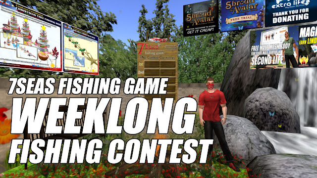 7Seas Fishing Game • Weeklong Fishing Contest (Unbaited / Sunday 12 am SLT)