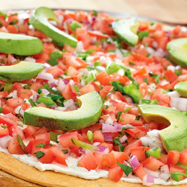 Southwest Salsa Pizza