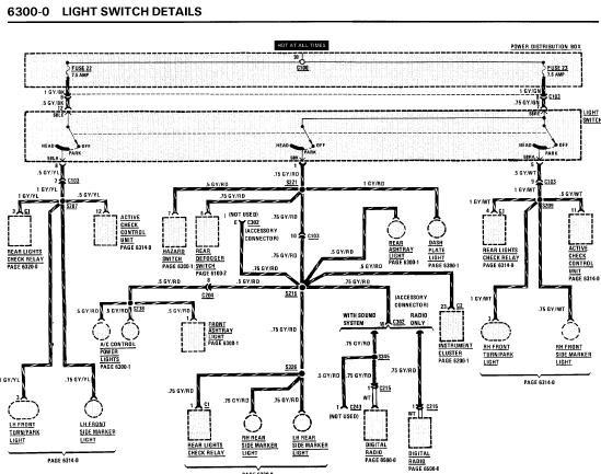 e36 wiring diagram radio ceiling fan 3 speed switch repair-manuals: bmw 325i 1991 electrical repair