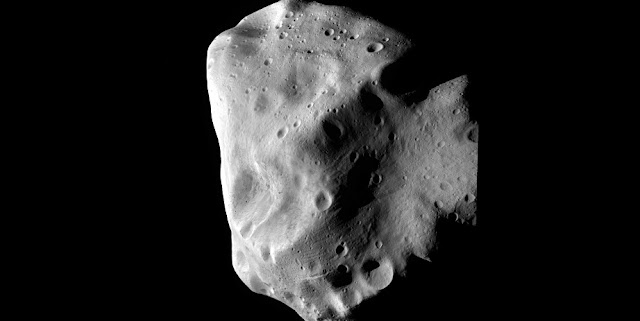 Analysis of asteroids like Lutetia was used in the Josef Hanuš-led paper on asteroid thermophysical modeling. Lutetia is a large main belt asteroid about 62 miles (100 kilometers) in diameter. Lutetia was visited by ESA's Rosetta spacecraft in 2010. Image Credit: ESA 2010 MPS