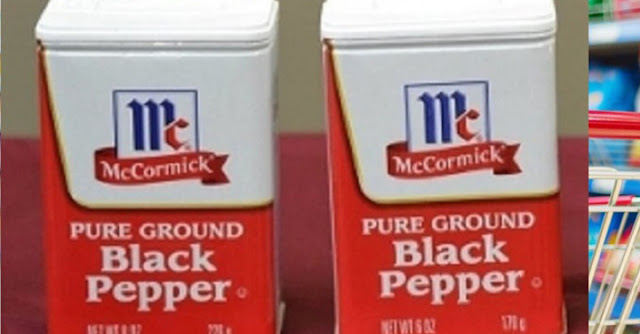 2 different amounts of pepper in same size can! McCormick