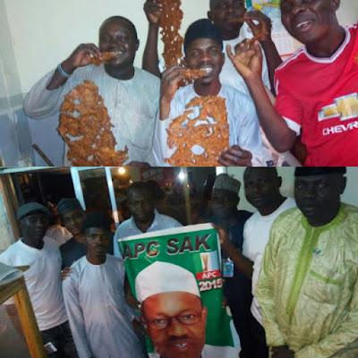 Mallam Shares Kilishi Worth N200,000 To Celebrate President Buhari Return