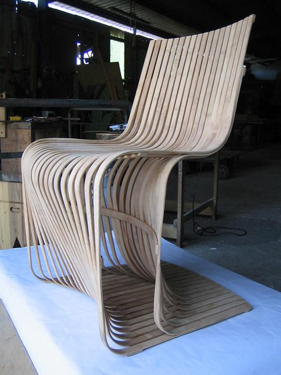 kursi bambu modern minimalis