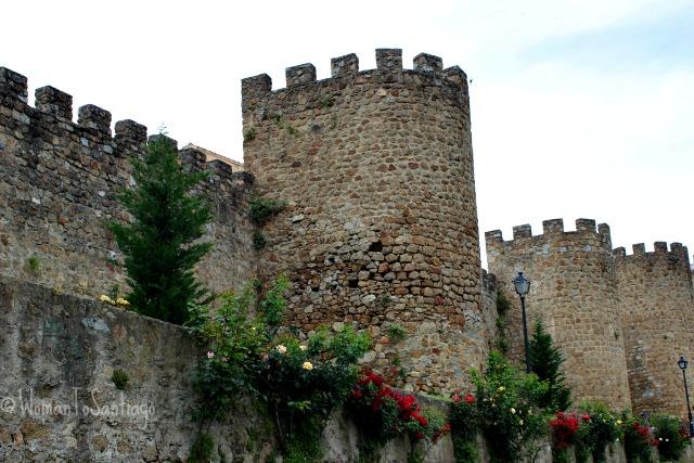 foto de la muralla