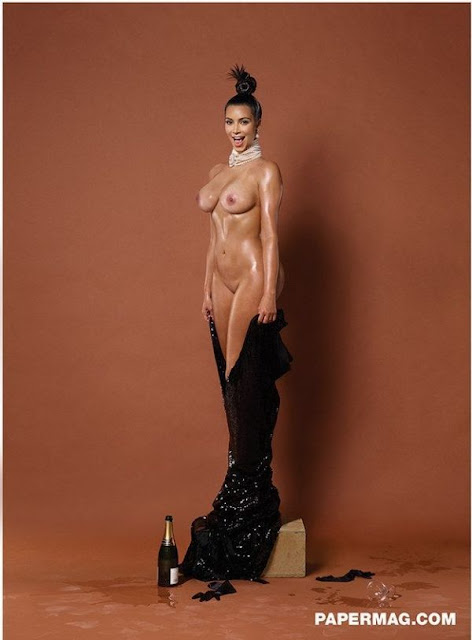 Kim Kardashian - Paper magazine