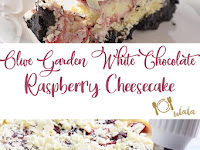 Make Olive Garden's white chocolate raspberry cheesecake at home