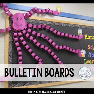 Bulletin Boards with easy directions!
