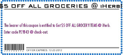 iHerb Coupon Grocery