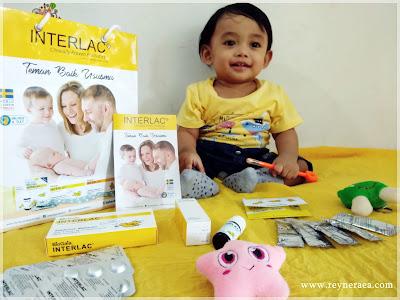 interlac untuk kesehatan pencernaan bayi
