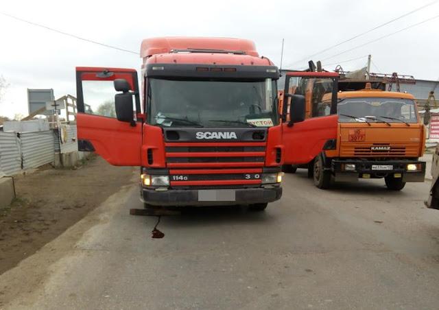 В Башкирии грузовик раздавил мужчину