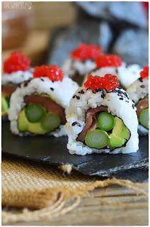homemade sushi- 5 recetas de sushi- clases de sushi- tipos de sushi- curso onlin de sushi- video de sushi- sushi casero