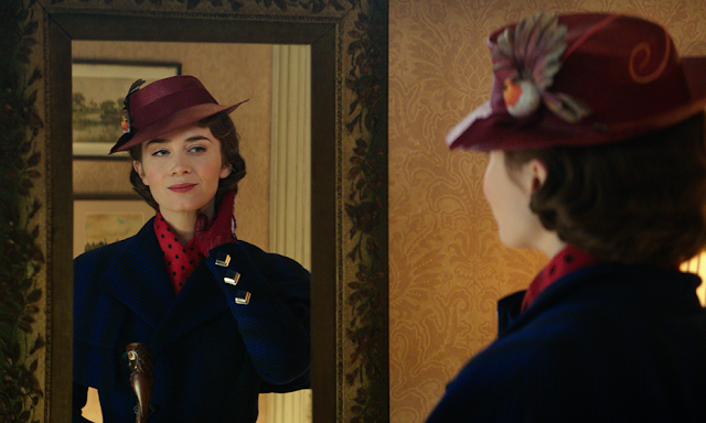 Mary Poppins mirror