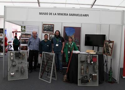 Stand del CIM de Barruelo y ARPI en FETUMI 2018