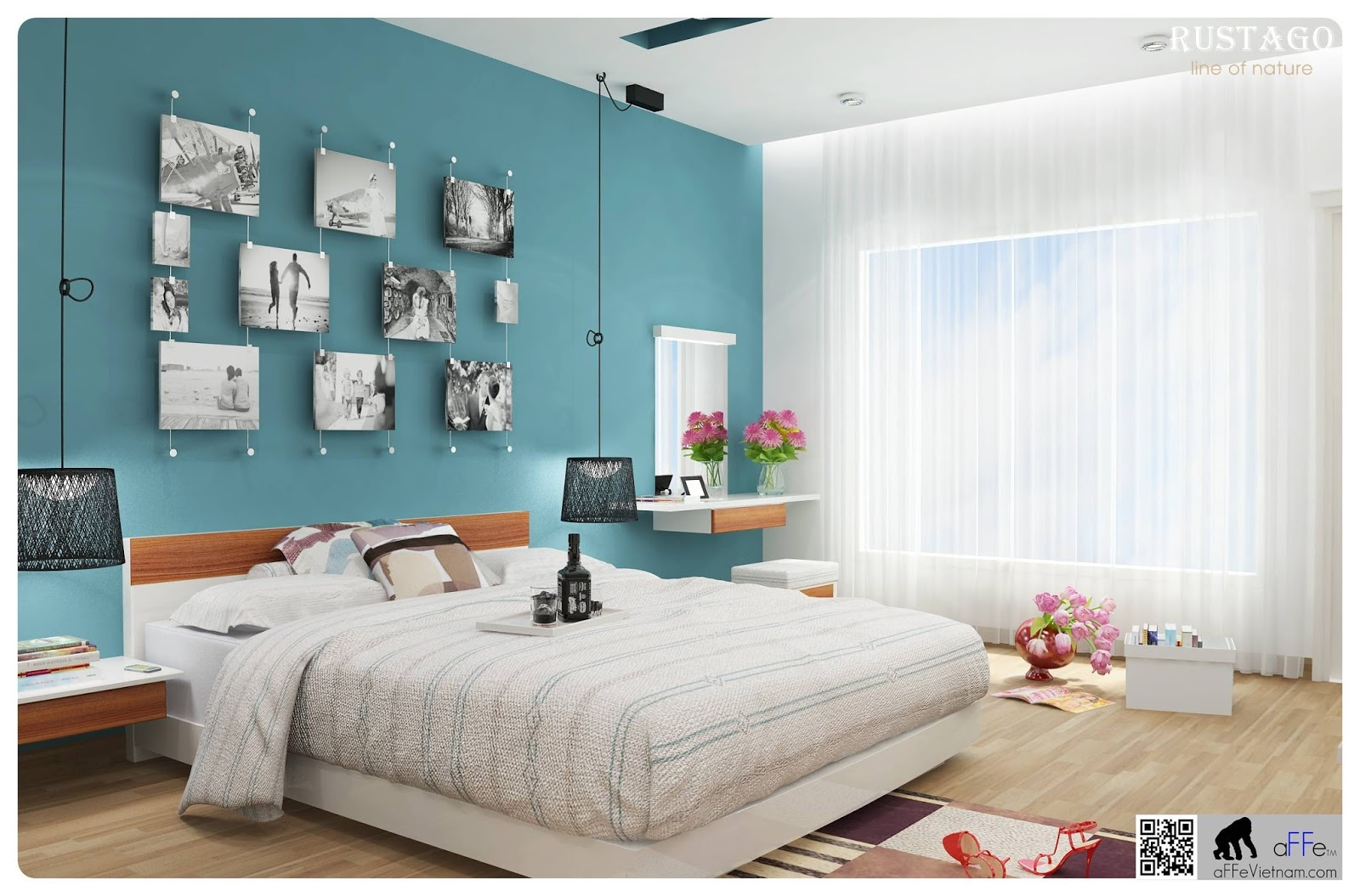 Thiết kế phòng ngủ và một số điều nên tránh trong phong thủy