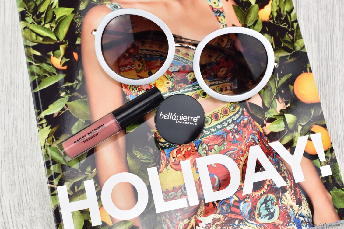 Lookfantastic Beauty Box - Wanderlust - Hailey Baldwin ModelCo & bellápierre