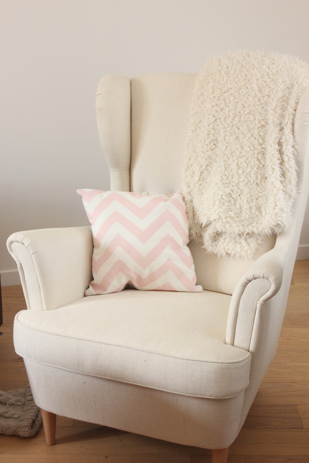strandmon blanc ikea - Ikea Fauteuil