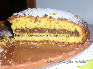 Torta Muffin alla nutella
