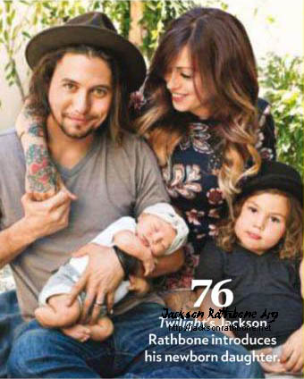 Beyond Twilight Jackson Rathbone And Family In People Magazine