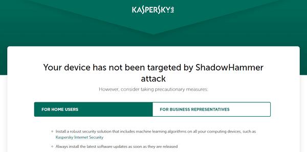 Web Kaspersky