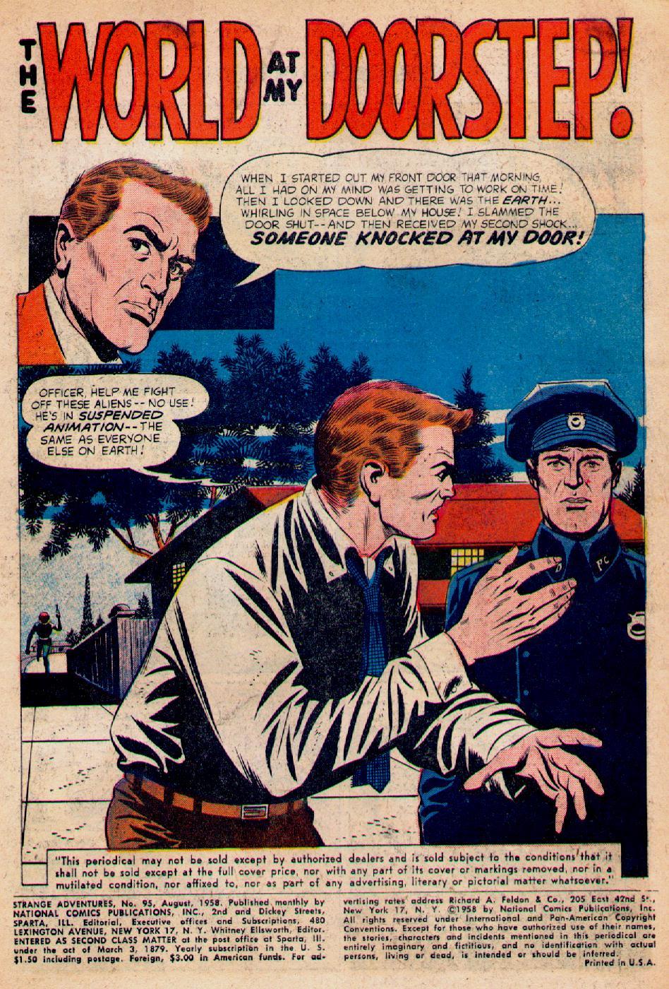 Strange Adventures (1950) issue 95 - Page 3