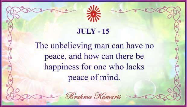 Thought For The Day July15