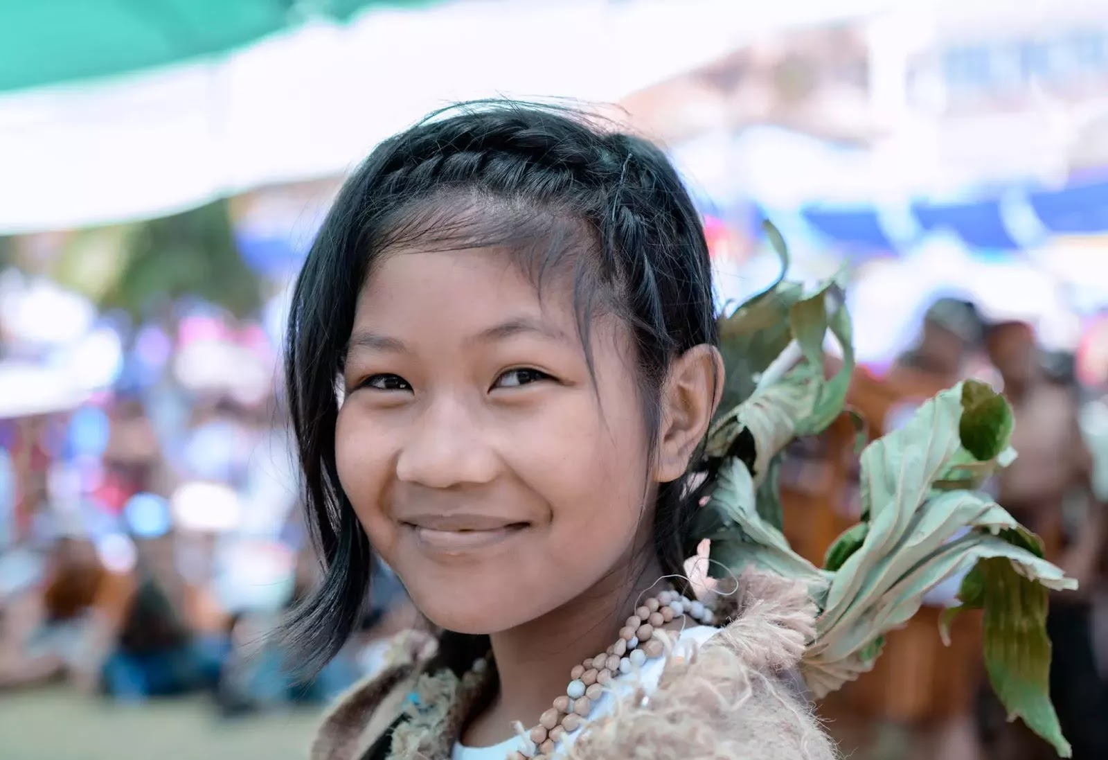 Mountain Province Ethno Indigenous Smile of Youth Portrait