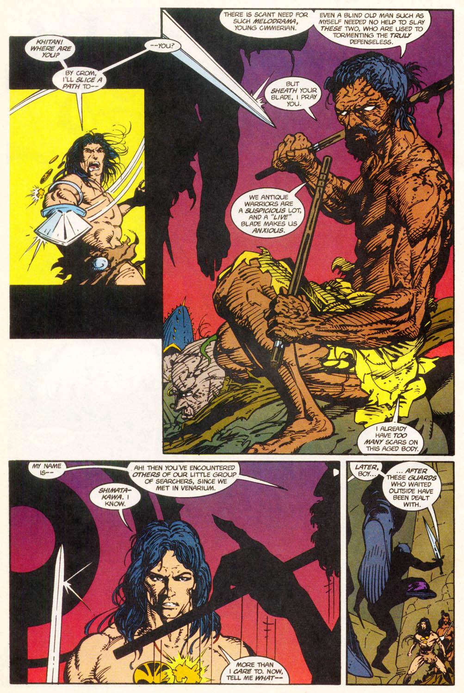 Read online Conan the Adventurer comic -  Issue #11 - 15