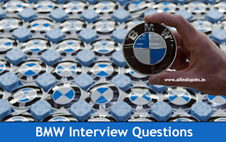 BMW Interview Questions