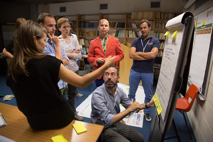 Definición de líneas de acción y grupos de trabajo
