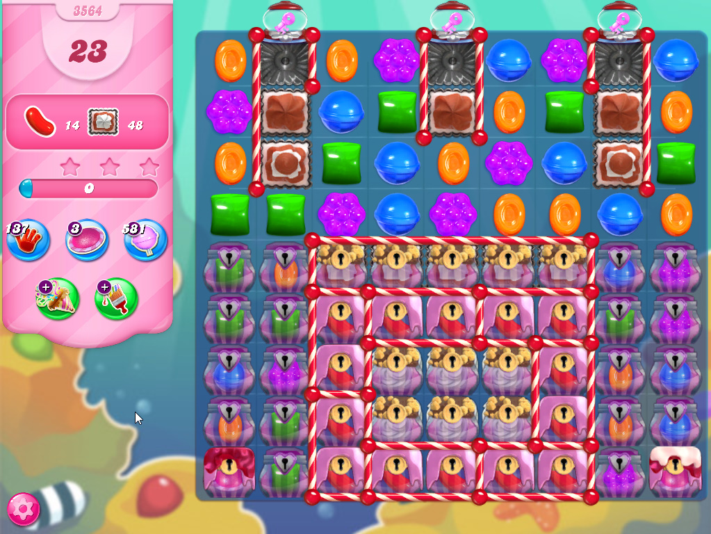 Candy Crush Saga level 3564