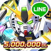 Playstore icon of Line: Gundam Wars