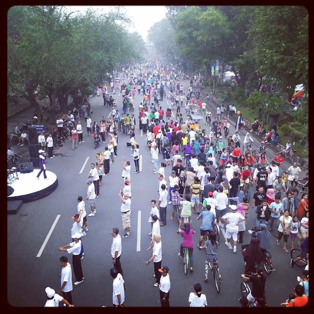 Kota Solo Akan Gelar Ultah CFD (Car Free Day) ke-3 dengan 2013 Flashmob