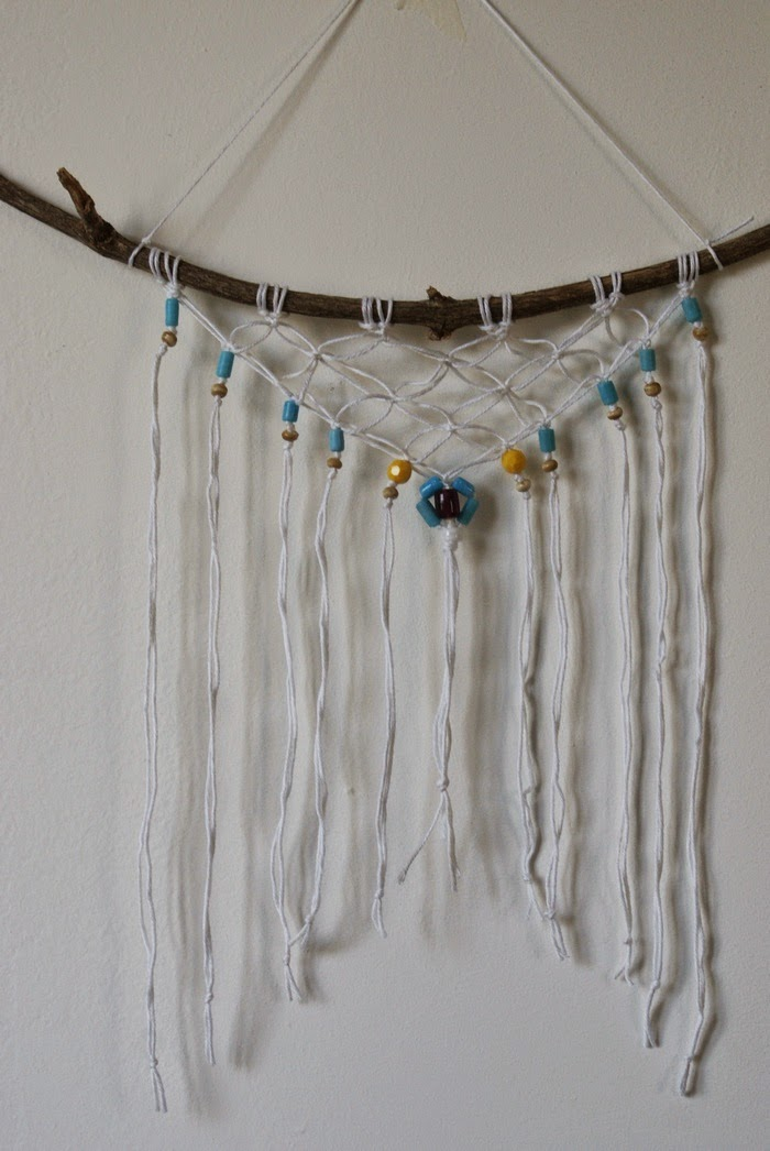 gypsy macrame diy decoration wall