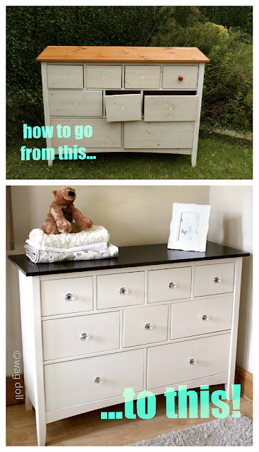 how to paint a chest of drawers