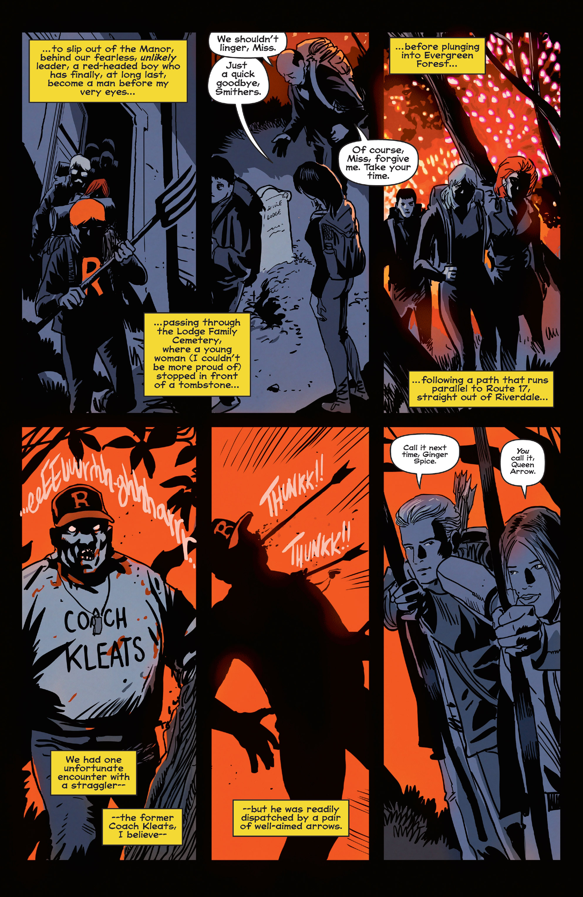 Read online Afterlife with Archie comic -  Issue #5 - 24