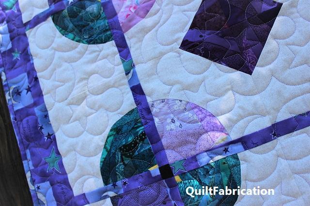 Saxon star quilting