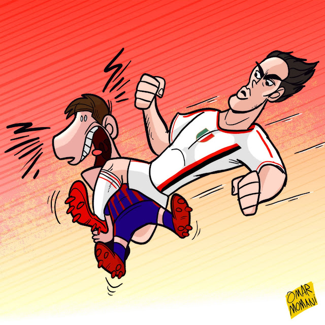 Alessandro Nesta cartoon