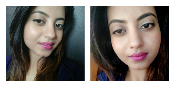 Miss Claire Soft Matte Lip Cream Shade 07 Review, Swatch, FOTD