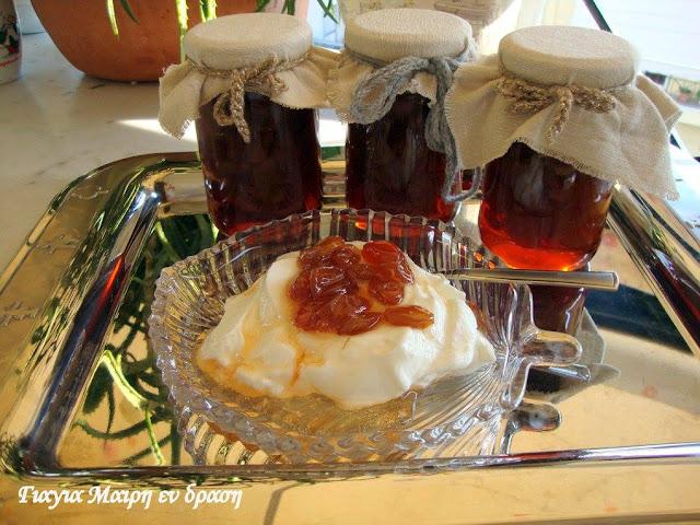 Γλυκό κουταλιού σταφύλι με Fanta