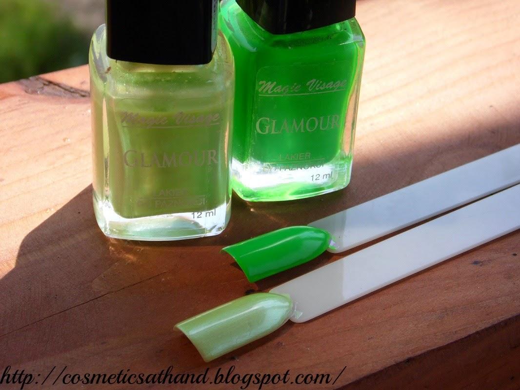 Lakiery do paznokci Magic Visage Glamour | Cosmetics At Hand