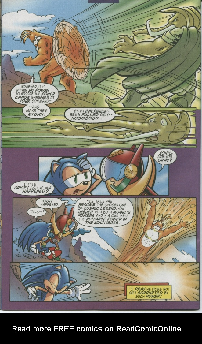 Read online Sonic The Hedgehog comic -  Issue #150 - 32
