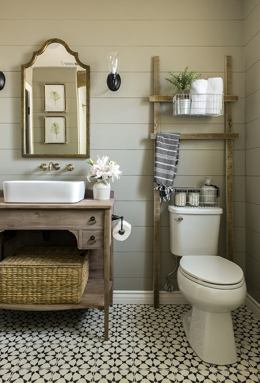 Farmhouse Half Bath Inspiration