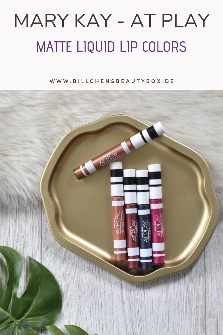 Mary Kay - At Play Matte Liquid Lip Colors - Liquid Lipstick Review