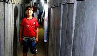 Trowongan Gaza Bekas Konflik, Kini Jadi Tempat Wisata