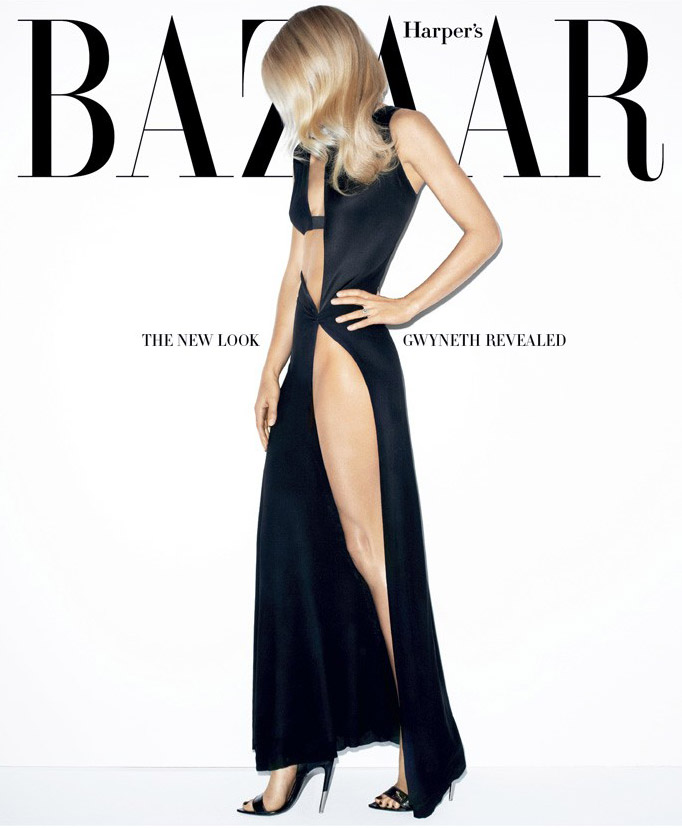 Harpers Bazaar Gwyneth Paltrow Double Cover