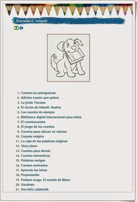 http://bibliotecacolegiojosecalderon.blogspot.com.es/p/entradas-e-infantil.html