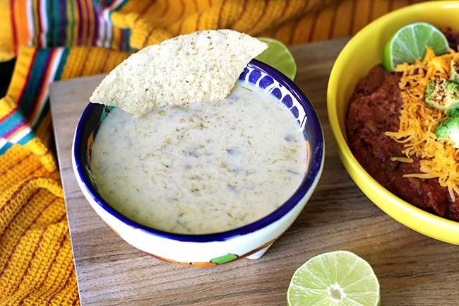 Creamy Yogurt Salsa Verde Dip