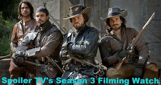 The Musketeers - Season 3 - Filming Updates & Speculation (Part Three)