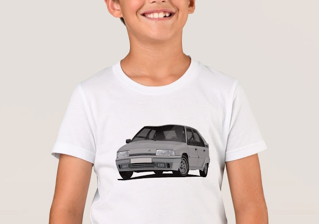 Citroen BX GTi t-shirts for kids