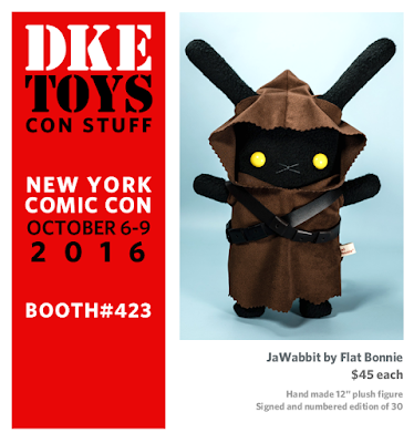 "New York Comic Con 2016 Exclusive Star Wars ""JaWabbit"" Plush by Flat Bonnie x DKE Toys"